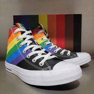 Converse CTAS Hi Pride Canvas Sneakers Unisex NWT